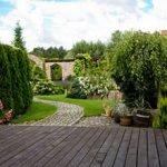 Gartengestaltung-Stahl